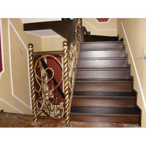 Лестница из дуба - ЛБП-002