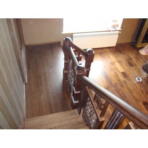 Лестница из ясеня - ЛБГ-001