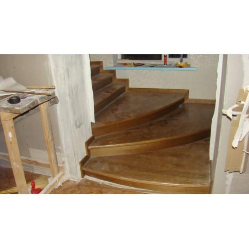 Лестница из дуба - ЛБП-003