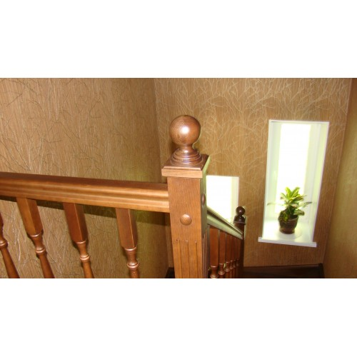 Лестница из дуба - ЛПД-003
