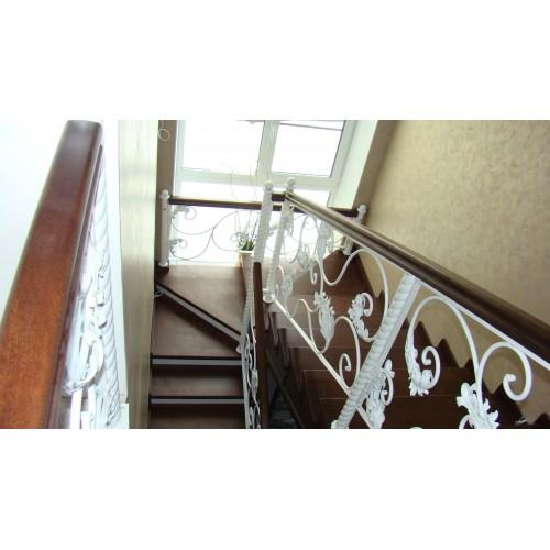 Лестница из дуба - ЛМП-001