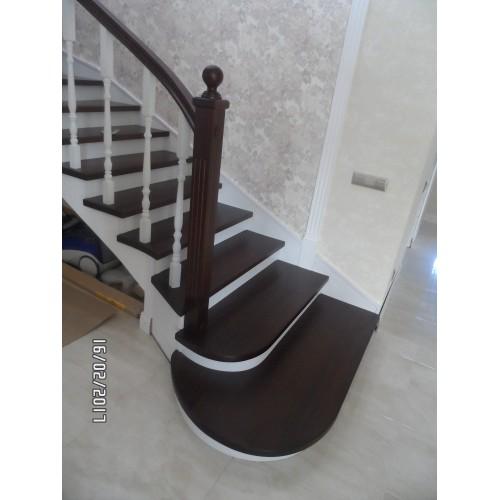 Лестница из бука - ЛБП-001