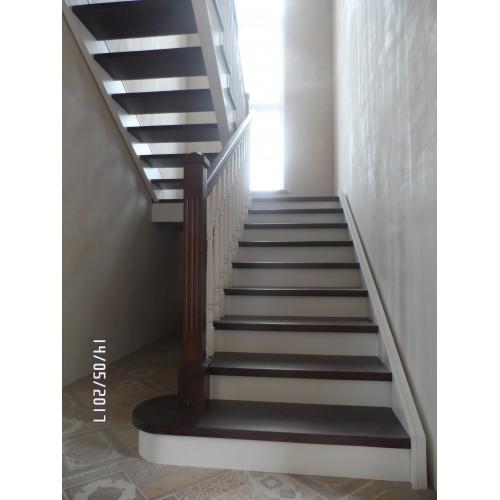 Лестница из cосны - ЛПД-008