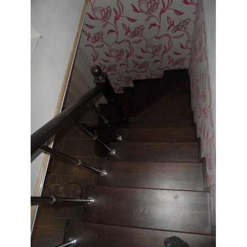 Лестница из сосны - ЛМГ-002