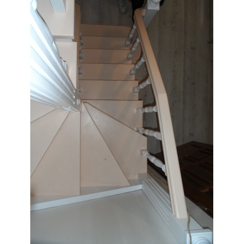 Лестница из сосны - ЛПД-007