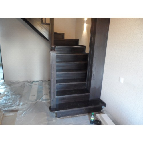 Лестница из сосны - ЛГД-005