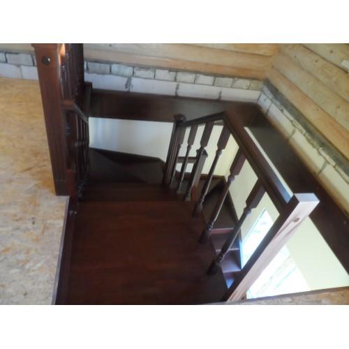 Лестница из бука - ЛПД-002