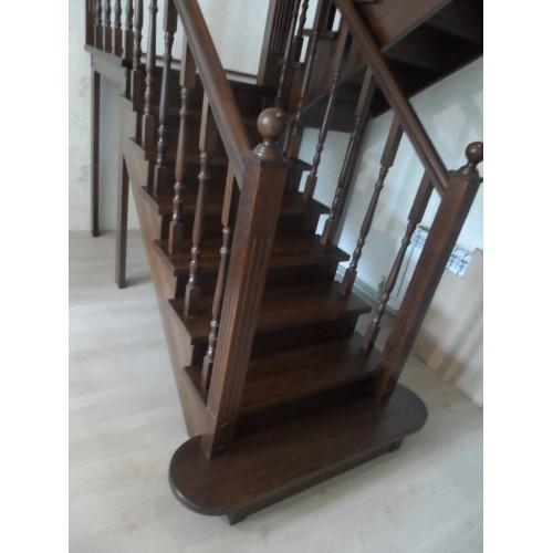 Лестница из бука - ЛПД-005