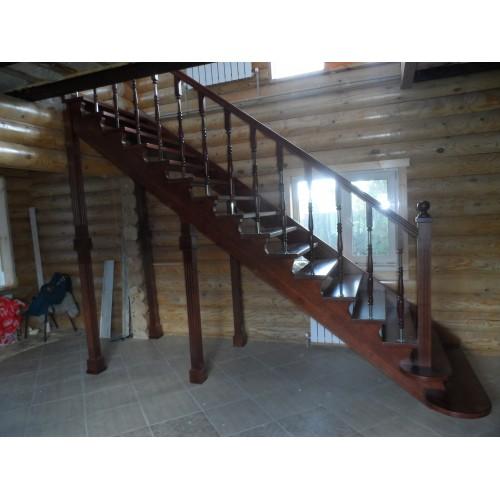 Лестница из бука - ЛП-002