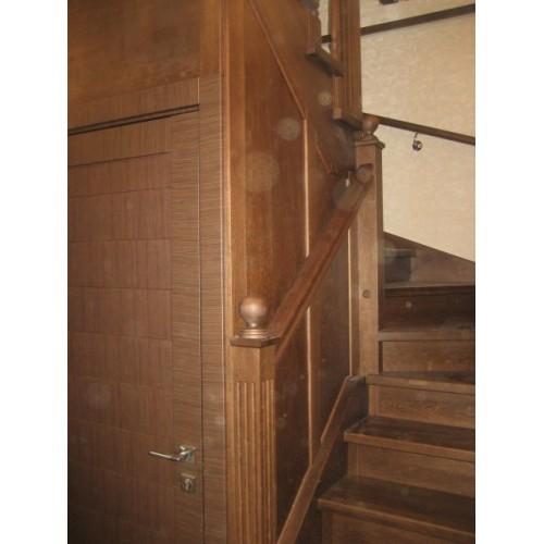 Лестница из дуба - ЛПД-004